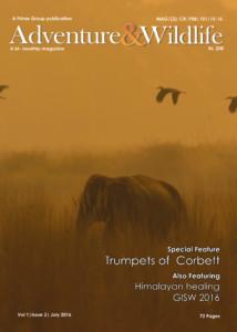 adventure and wildlife Magazine july 2016 vol 1 issue 3