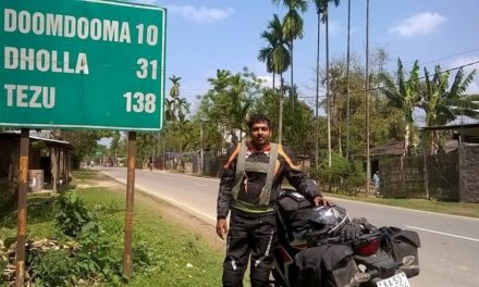 Fastest Indian on a motorcycle – Balaji Mohan rides from Arunachal Pradesh to Kutch in 66 hours
