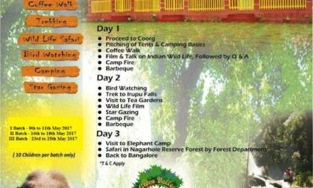 Summer Camp in Coorg