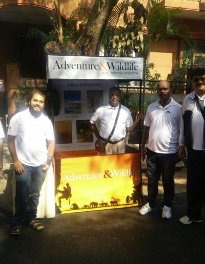 adventure and wildlife maagzine team