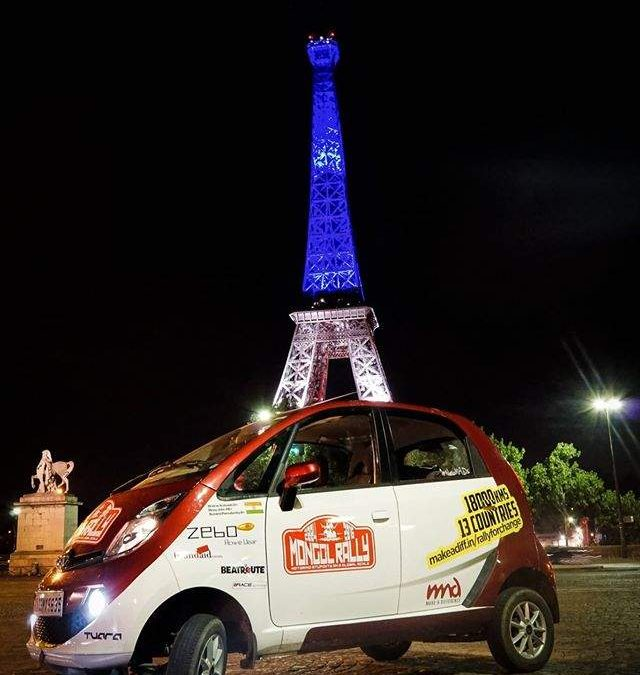 3 Friends from Bangalore conquer The Mongol Rally in a Tata Nano!