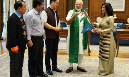 PM Modi flags in Anshu Jamsenpa's Double Ascent Expedition 2017