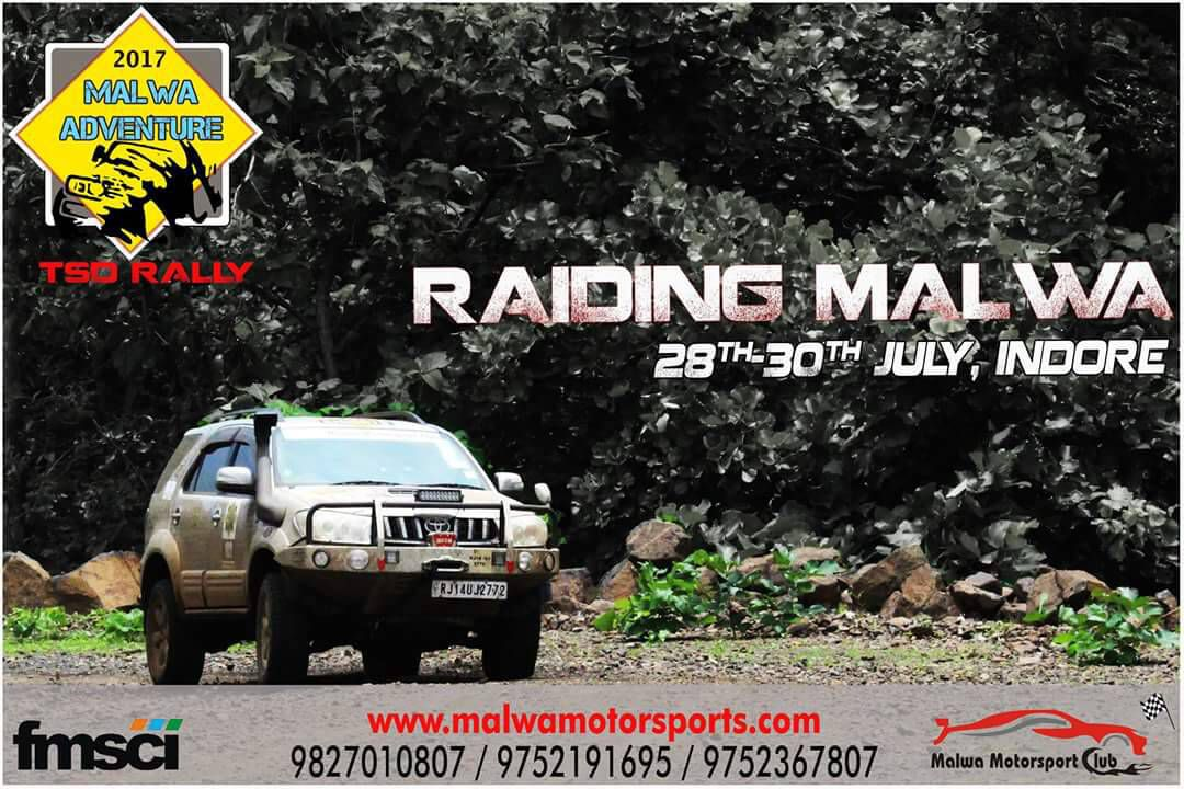 TSD Rally – Riding Malwa – 28 – 30 July, Indore