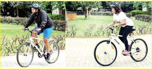 Pedalling for a cause