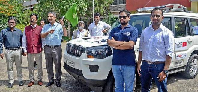 Road trip to create awareness on endangered species