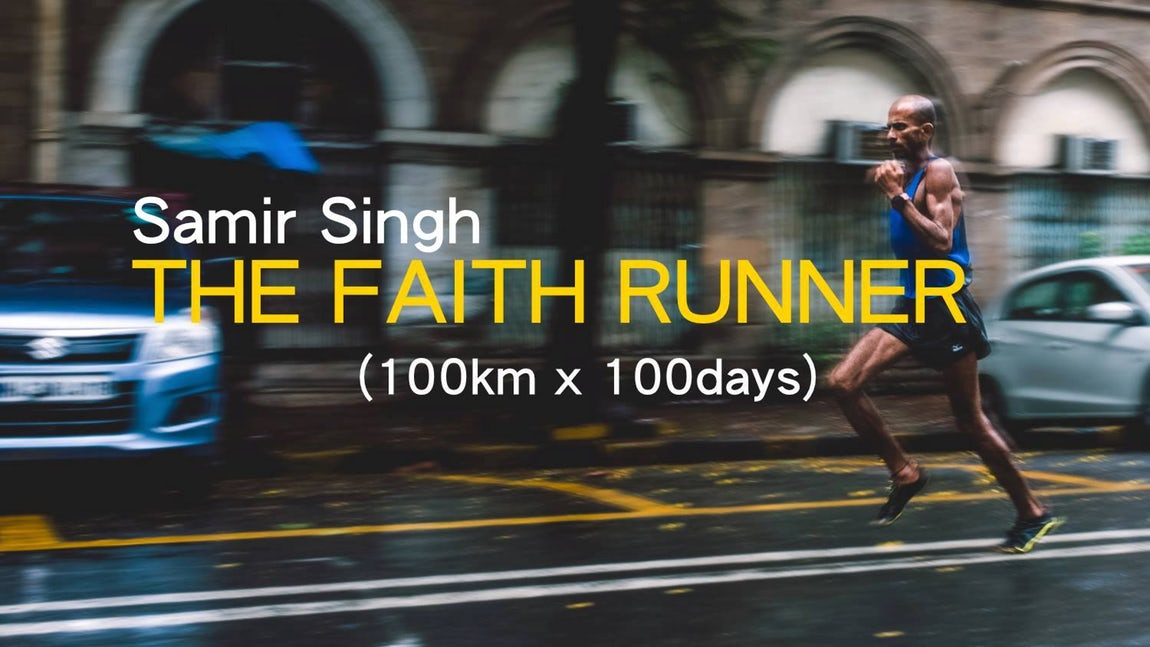 Can You Run 10,000 km in 100 days? Meet India's 'Faith Runner'