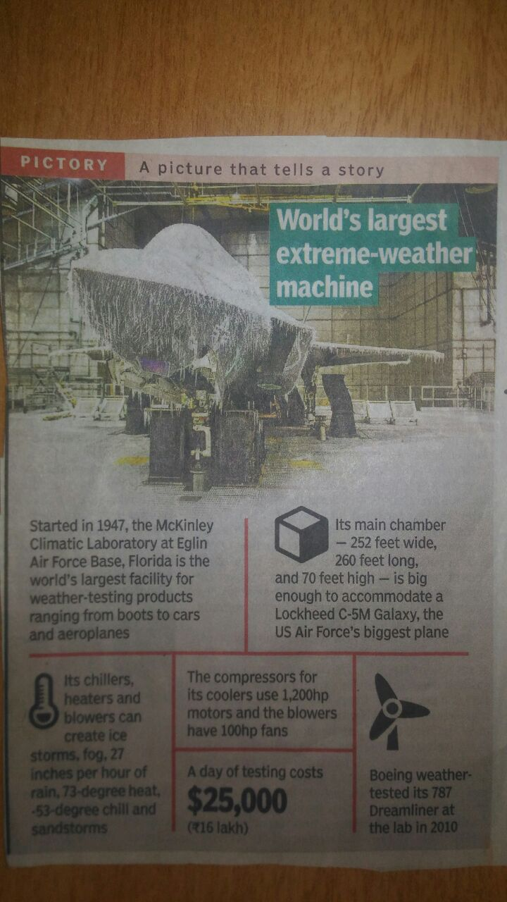 World's Largest Extreme-Weather Machine