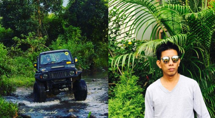 A fearless offroader, Yanren Jamio from Nagaland is Northeast's first & only RFC competitor