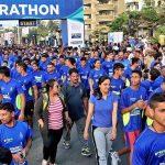 Navy marathon a runaway hit