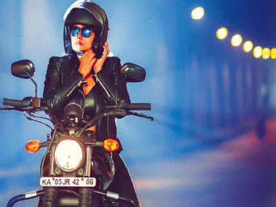 Women bikers rule the roads