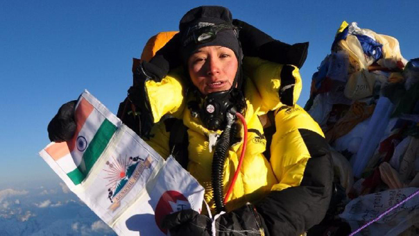Arunachal's Anshu Jamsenpa The first woman to scale Mt Everest twice in 5 days