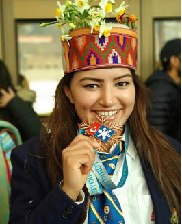 'Aanchal Thakur' – India's 1st International Medal Winner in Skiing