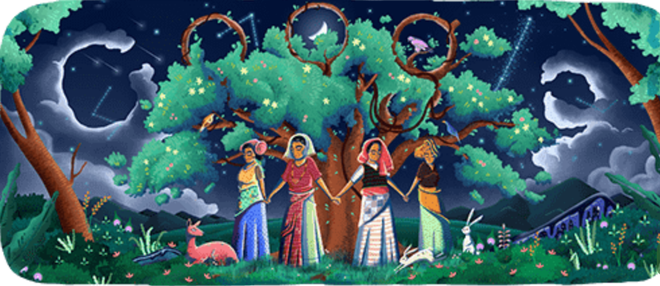 Google celebrates 45th anniversary of Chipko movement with a doodle
