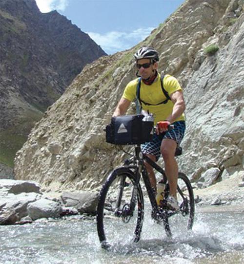Mountain Bikers From The Goan Seaside