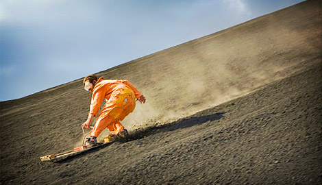 Volcano Boarding- an erupting adventure sports