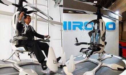 HIROBO-HX-1 Single-Seat Helicopter