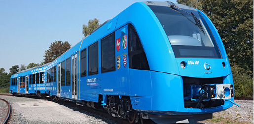 World first hydrogen-powered and zero-emission passenger Train