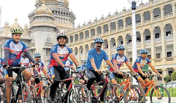 Karnataka Darshana Cycle Expedition