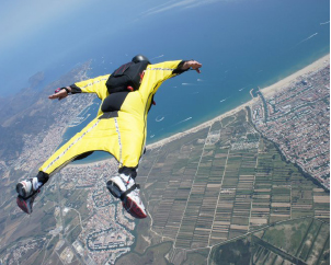Wingsuit Flying Record in India