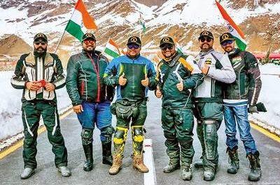 Three Hyderabadis' icy Himalayan adventure
