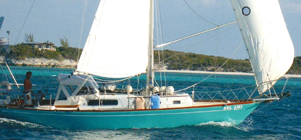 How do I find my way while sailing?