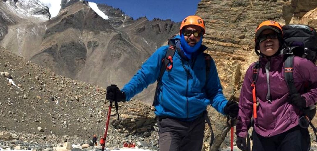 First Indian 'father-daughter' – duo scale Mount Everest