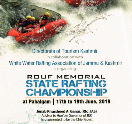 Rouf White Water Rafting- An Event to look for.