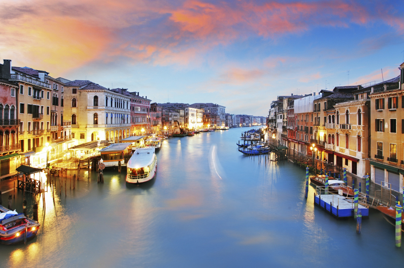 VENICE – IN THE U. N. LIST FOR THE MOST ENDANGERED CITY