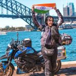 Candida Louis Solo Biking From India to Australia
